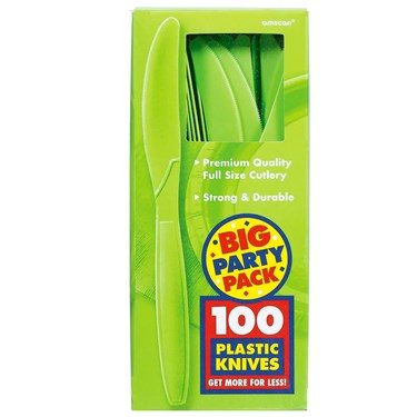 Kiwi Big Party Pack - Knives (100 count)