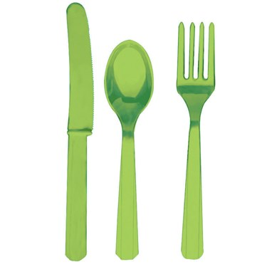 Kiwi Forks, Knives & Spoons (8 each)