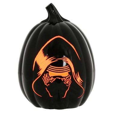 """Kylo Ren 12"""" Light Up Pumpkin"""