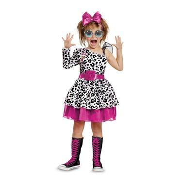 L.O.L Dolls Diva Deluxe Toddler Costume