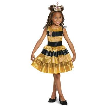 L.O.L Dolls Queen Bee Classic Child Costume
