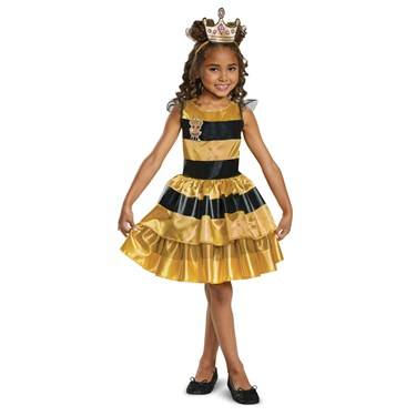 L.O.L Dolls Queen Bee Classic Toddler Costume