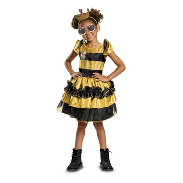 L.O.L Dolls Queen Bee Deluxe Toddler Costume