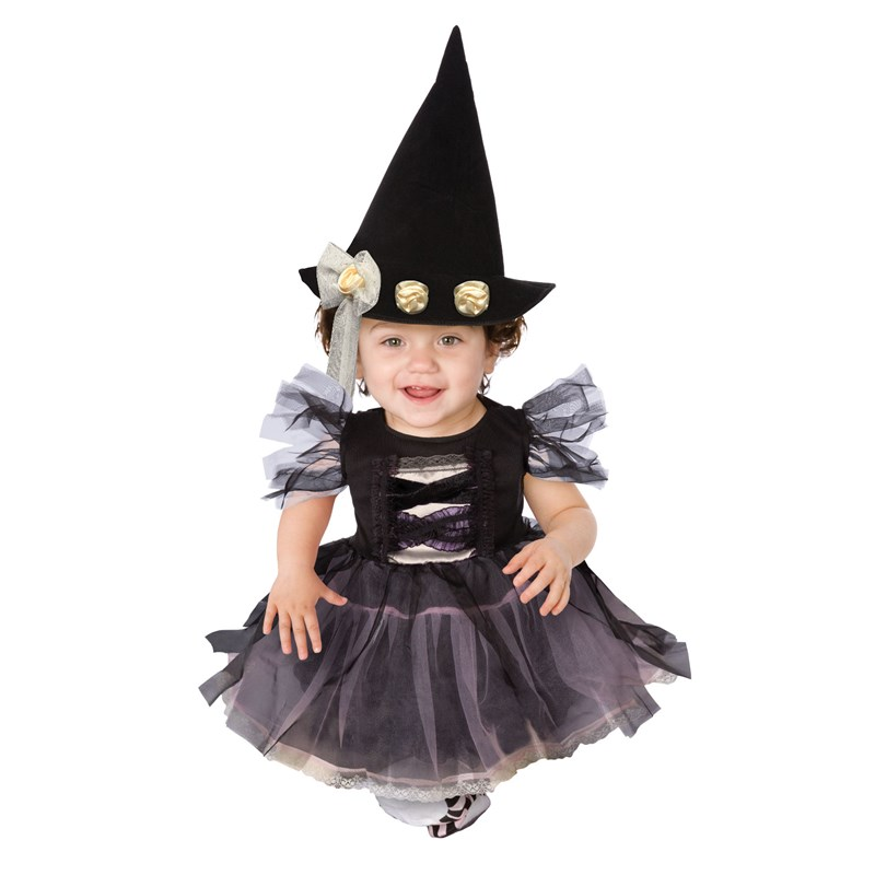 lace witch infant toddler costume large image - Baby Witch Costumes Halloween