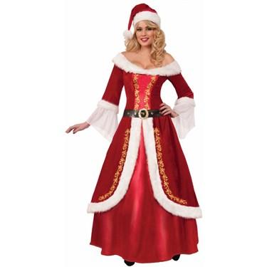 Ladies Premium Mrs. Claus Costume