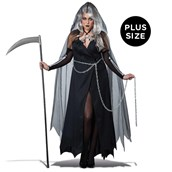 Lady Grim Reaper Plus Size Womens Costume
