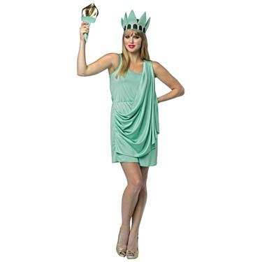 Lady Liberty Adult Dress