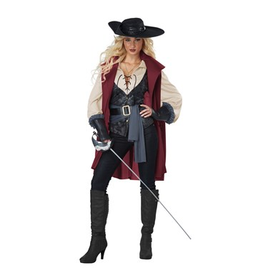 Lady Musketeer Women's Costume