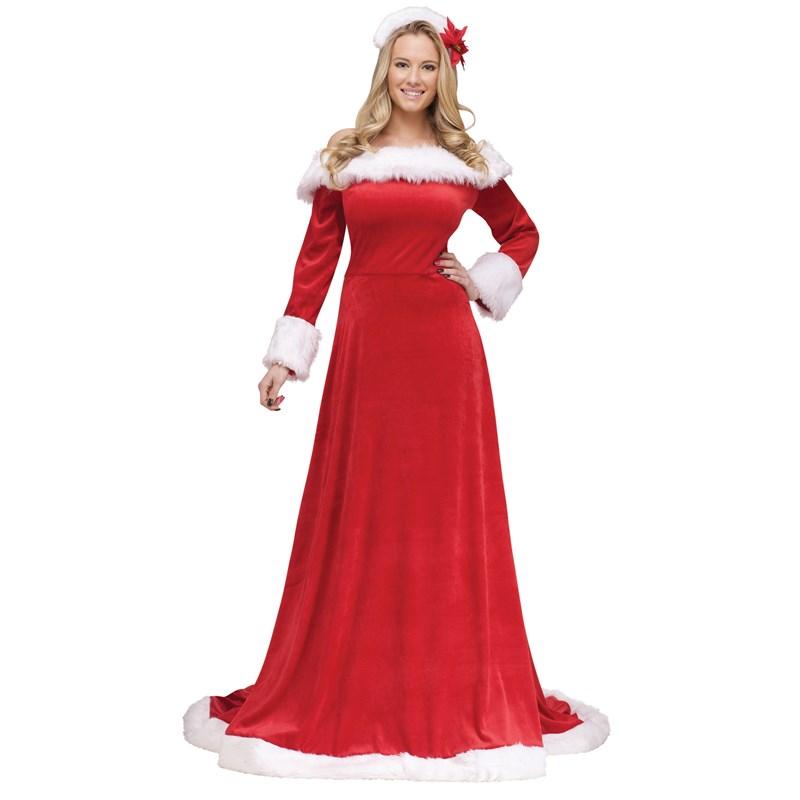 Lady Santa Dress Adult Costume Buycostumes Com