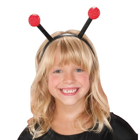 Ladybug Headband For Girls