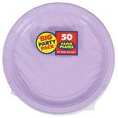 Lavender Big Party Pack - Dessert Plates (50 count)