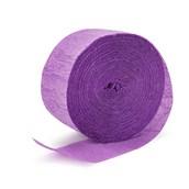 Lavender Crepe Streamer - 81'