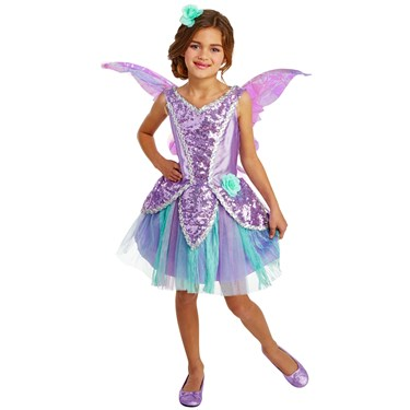 Lavender Fairy Child Costume