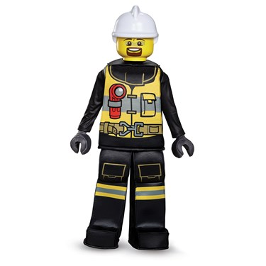 Lego Iconic - Firefighter Prestige Child Costume