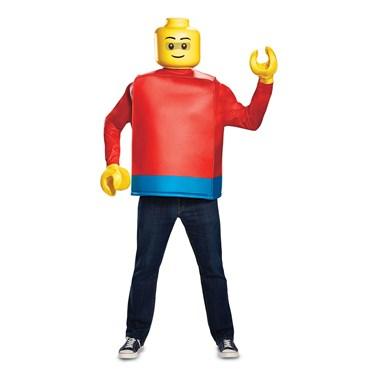 Lego Iconic  Lego Guy Classic Adult Costume