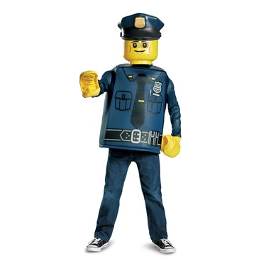 Lego Iconic - Police Officer Classic Child Costume