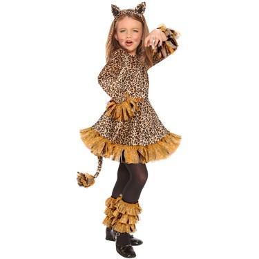 Leopard Girls Costume