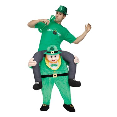 Ride a Leprechaun Adult Costume