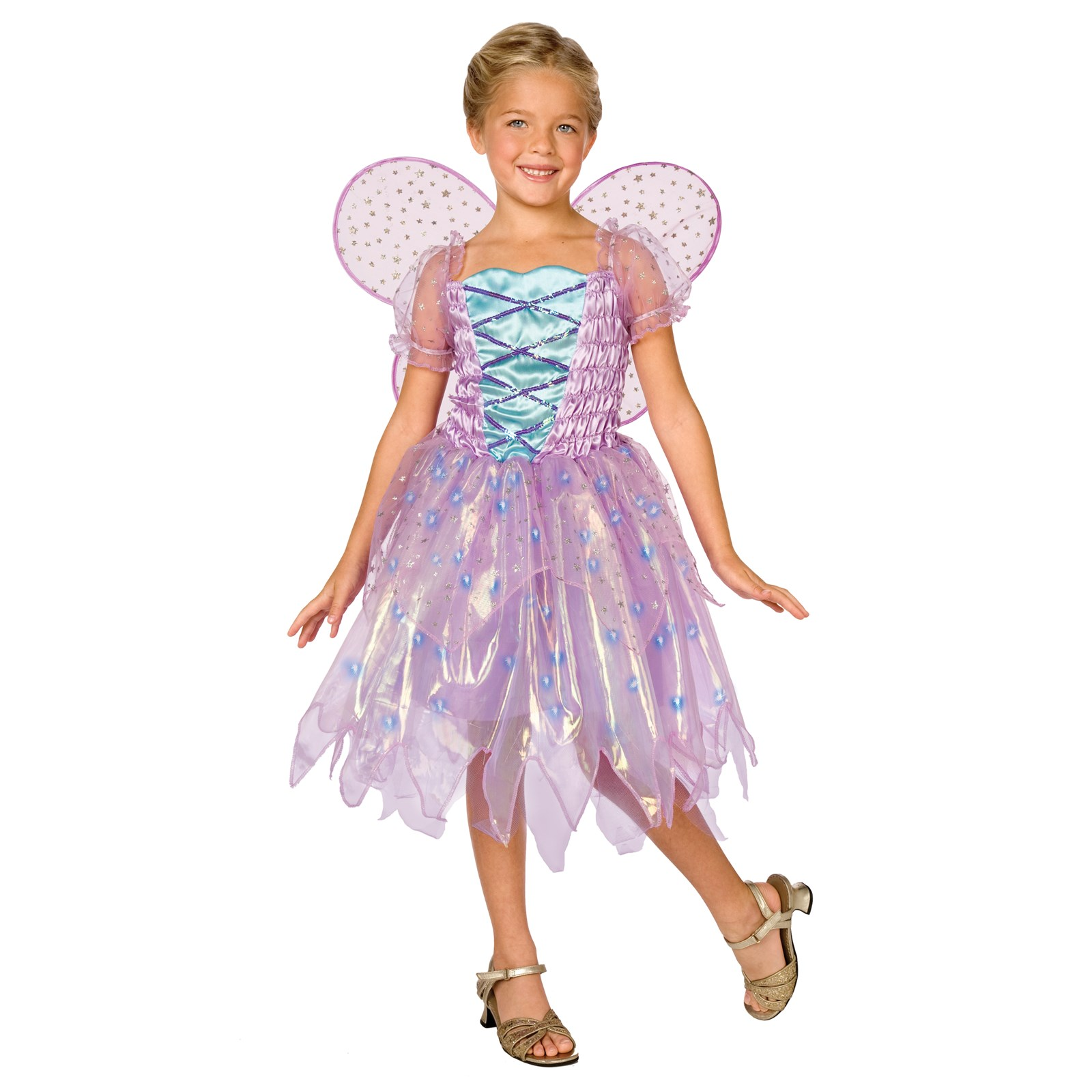 Light-Up Coral Fairy Child Costume | BuyCostumes.com