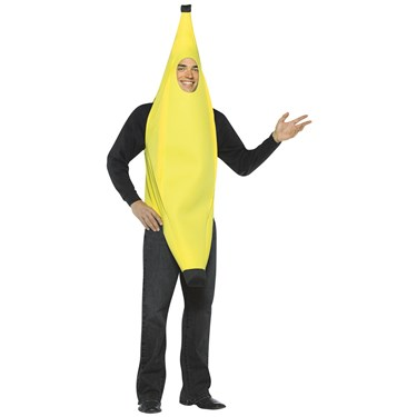 Light Weight Banana Adult Costume