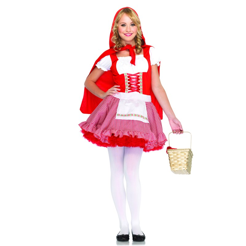 Lil' Miss Red Teen Costume