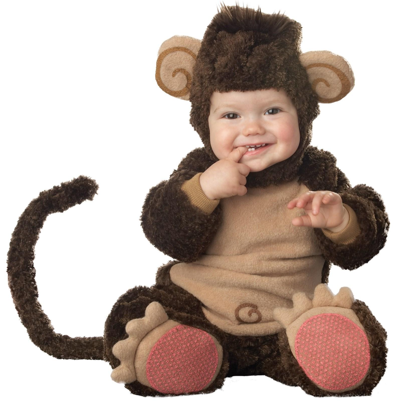 Lil' Monkey Elite Collection Infant / Toddler Costume ...