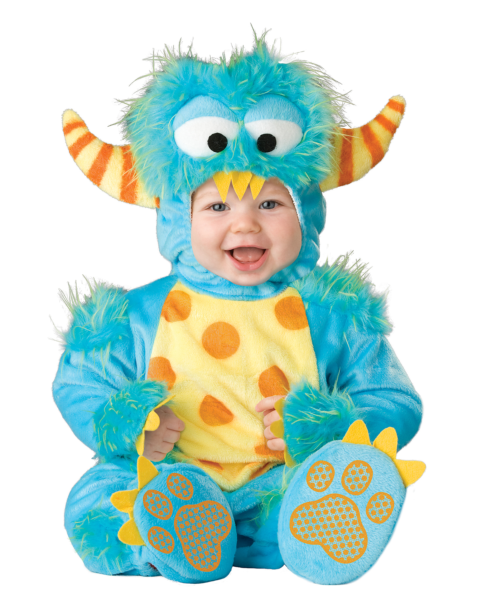 Cute Baby Halloween Costumes bib sets pacifiers Lil Monster Infant Toddler Costume