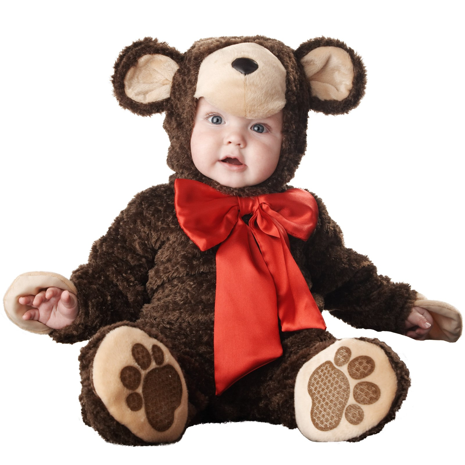Lil' Teddy Bear Elite Collection Infant / Toddler Costume ...