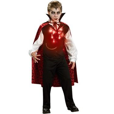 Lite-Up Vampire Child Costume