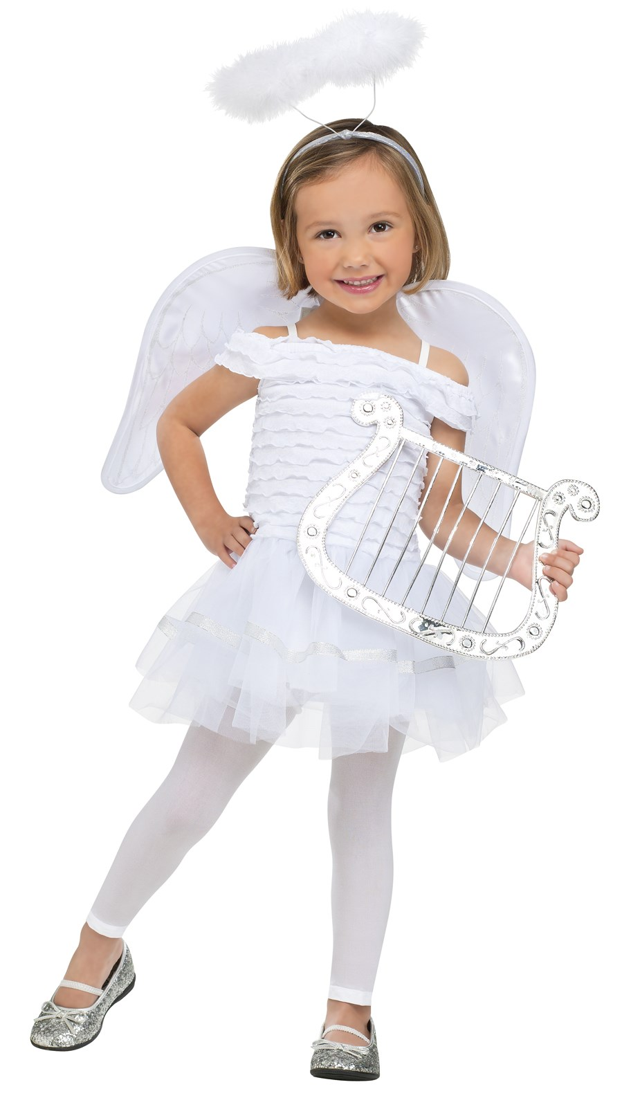 Little angel toddler costume - Disfraz de angelito para nina ...