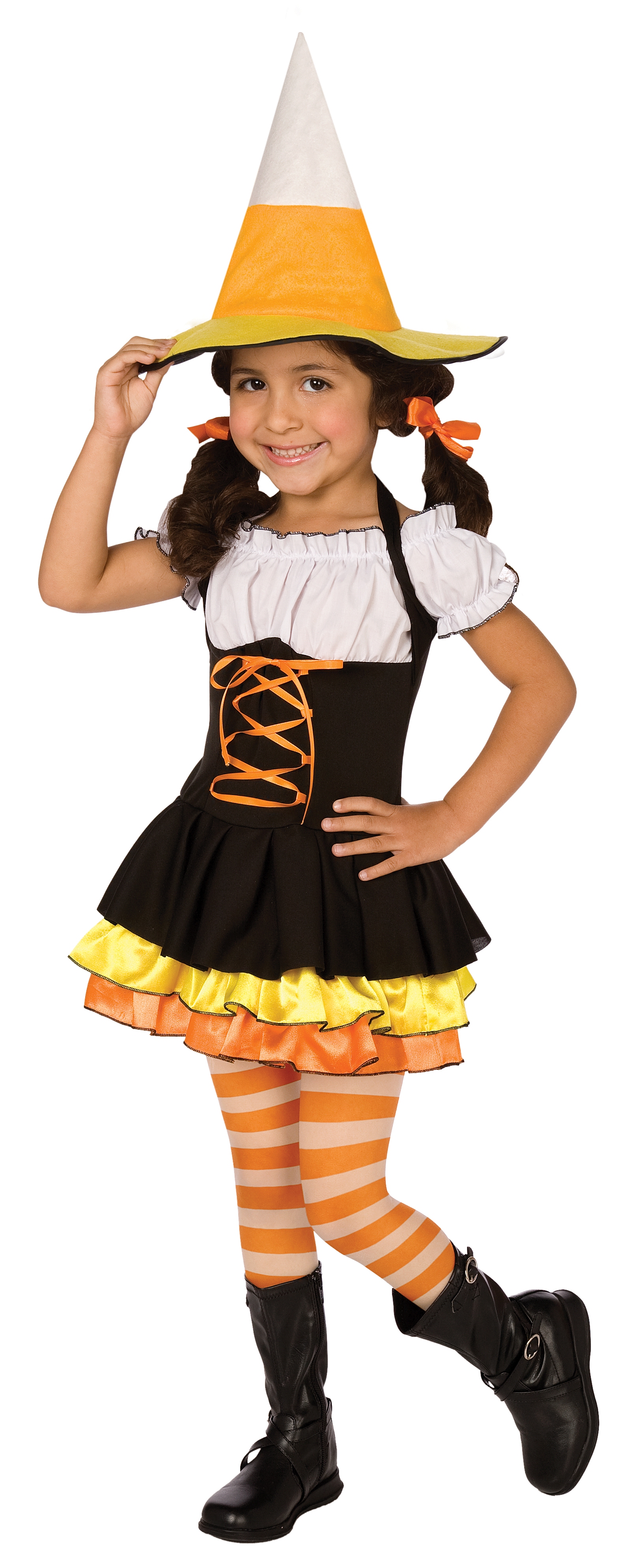 Little Candy Corn Witch Toddler / Child Costume | BuyCostumes.com