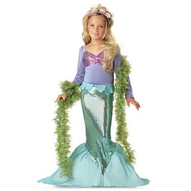 Little Mermaid Child Costume