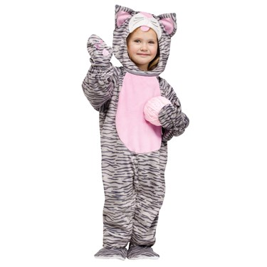 Little Stripe Kitten Toddler Costume