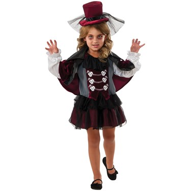 Little Vampiress Child Costume