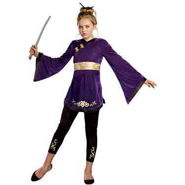 Lotus Warrior Tween Costume