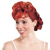 Lucy Curly Adult Wig