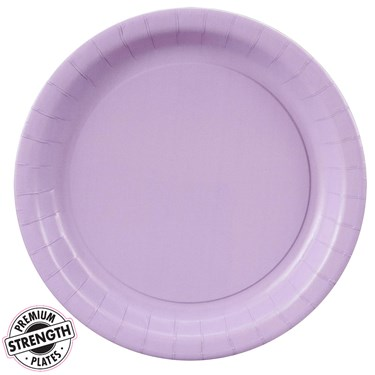 Luscious Lavender (Lavender) Dessert Plates (24 count)