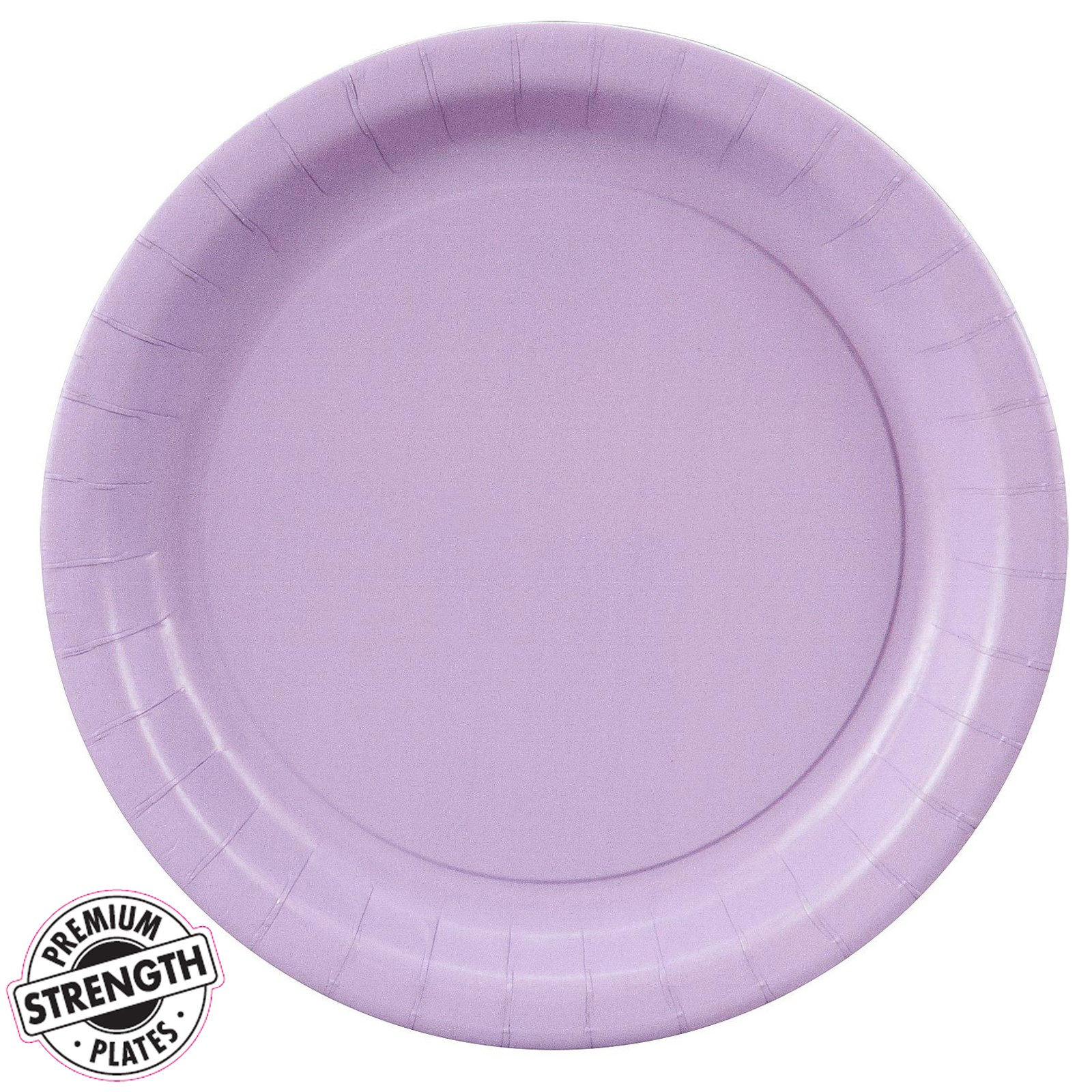 luscious lavender lavender dessert plates 24 count. Black Bedroom Furniture Sets. Home Design Ideas