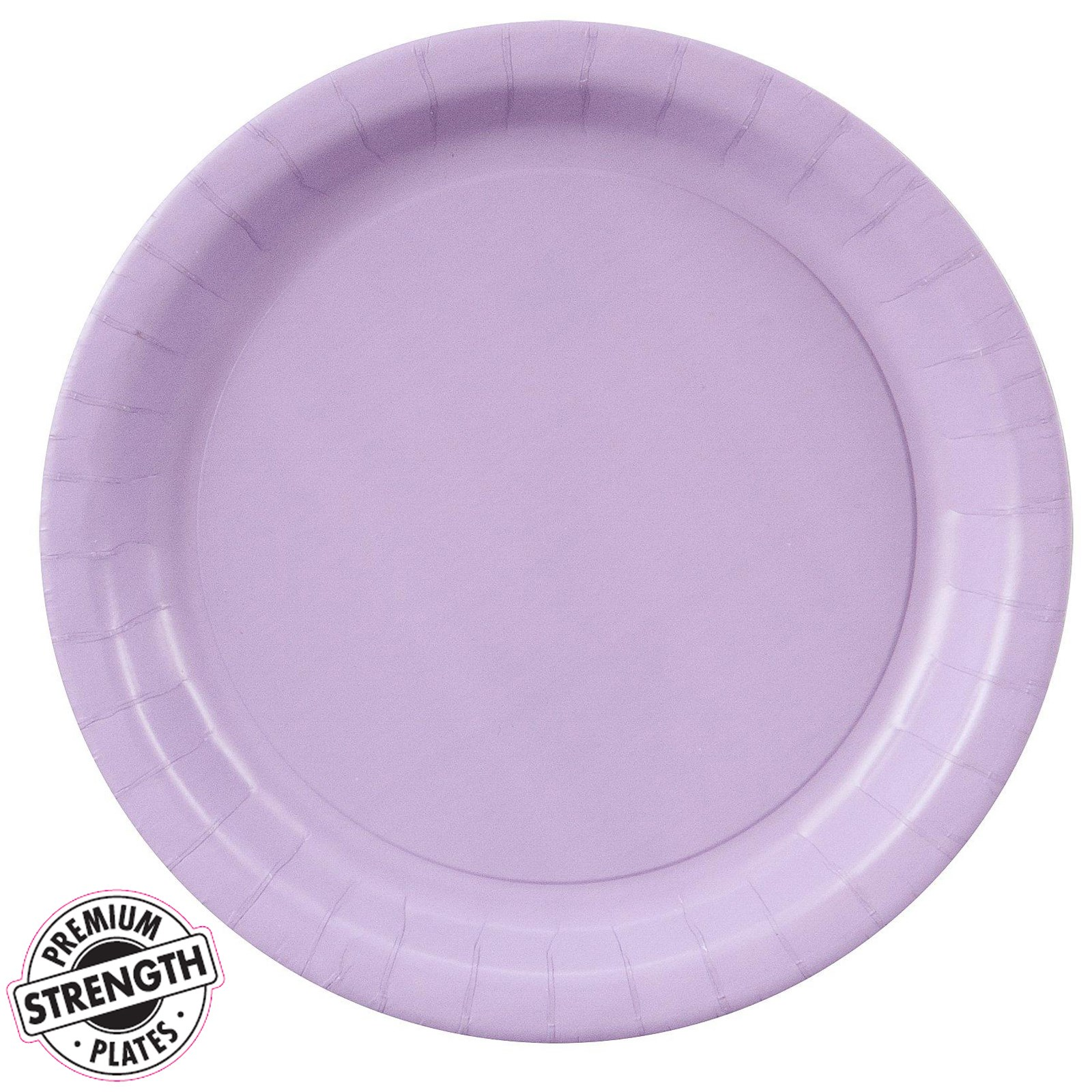 luscious lavender lavender dinner plates 24 count. Black Bedroom Furniture Sets. Home Design Ideas