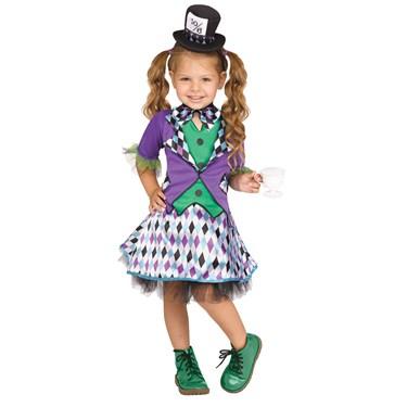 Mad Hatter Girl's Costume
