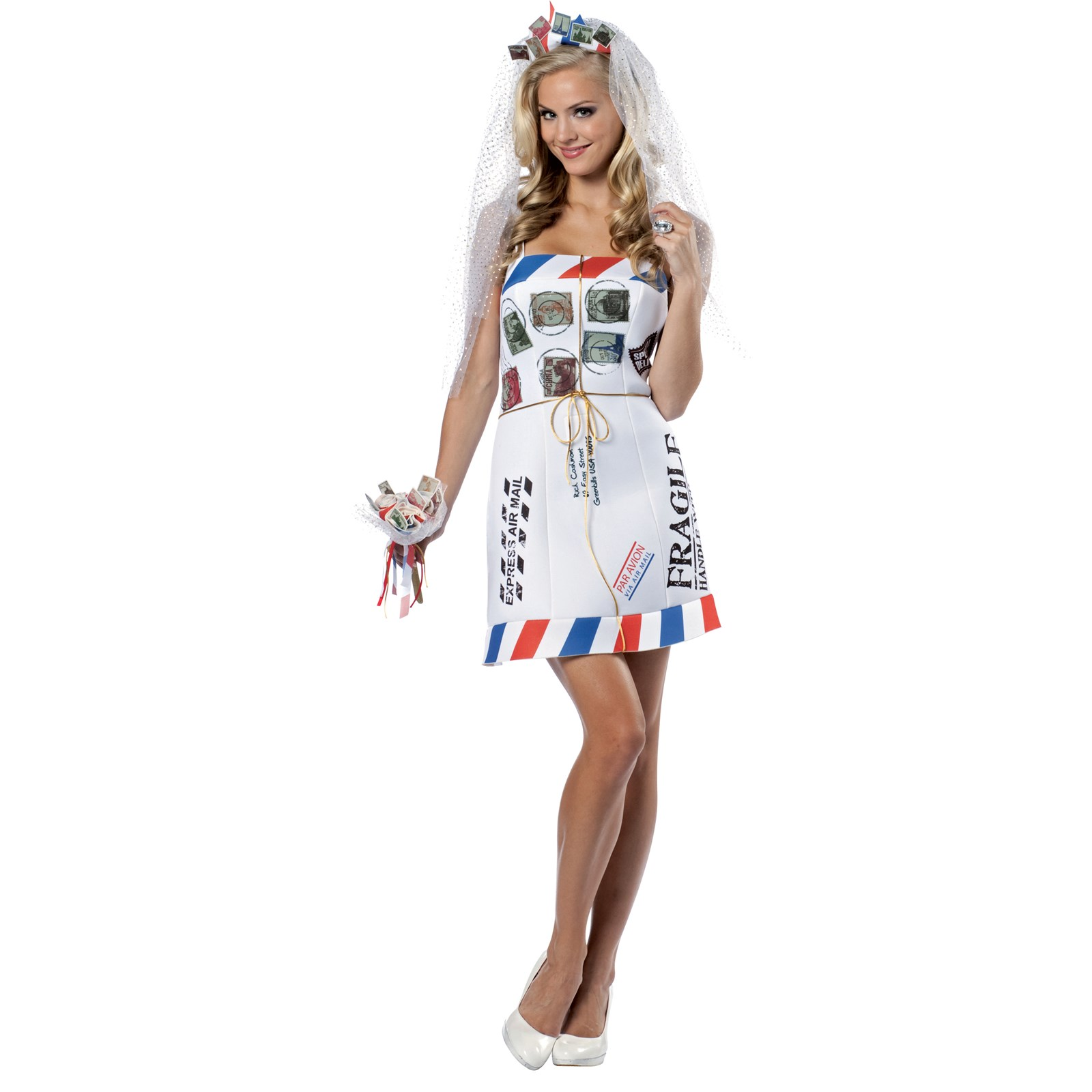 Mail order bride adult costume buycostumes mail order bride adult costume sciox Choice Image