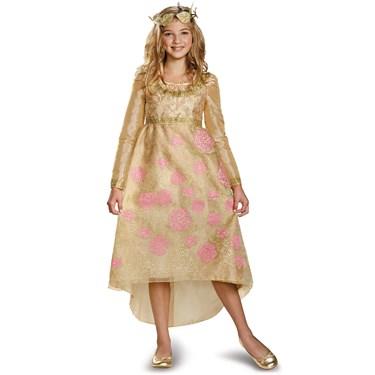 Maleficent - Aurora Coronation Deluxe Girls Dress Costume ...