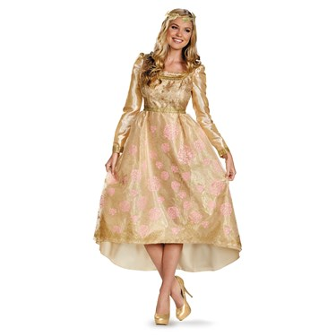 Maleficent - Aurora Deluxe Coronation Gown Adult Costume