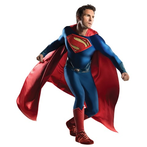 Man of Steel Grand Heritage Superman Adult Costume