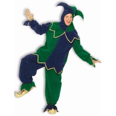 Mardi Gras Jester Adult Costume