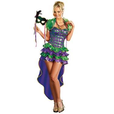 Mardi Gras Maven Adult Costume