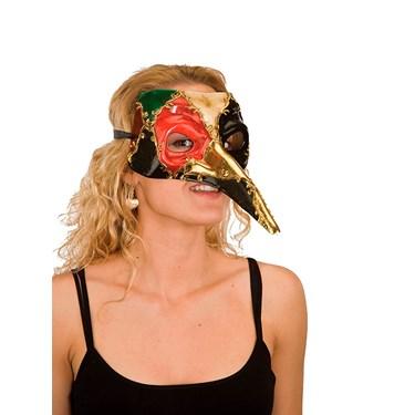 Mardi Gras Pulcinella Mask