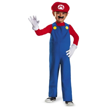 Mario Toddler Costume
