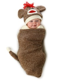 Click Here to buy Marv the Monkey Baby Bunting Costume from BuyCostumes