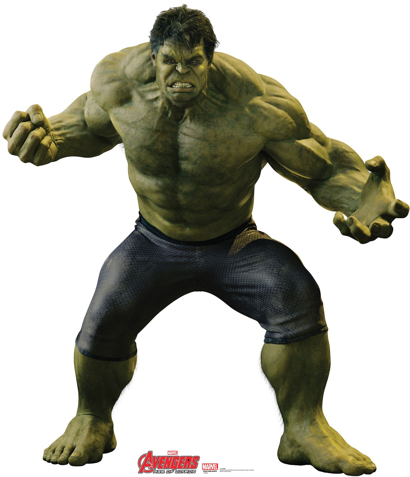 Marvel Avengers Age of Ultron Hulk Standup - 6 Tall